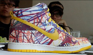 "Nike ""Back To School Scribble"" Dunk Hi"
