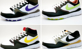 Nike Free Court Trail Mid And Low