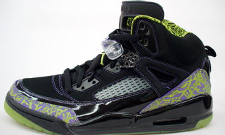 Nike Jordan Spizike Citron/Purple