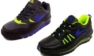 Nike Air Wildwood ACG And Air Max Terra Ninety