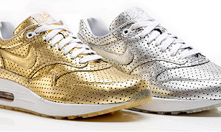 Nike Air Max 1 Olympic | Perforated Metallic Pack