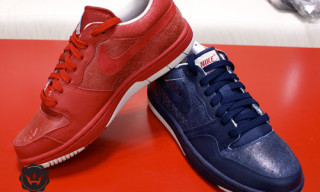 "Nike Court Force Low ""Aged Leather"" Pack"