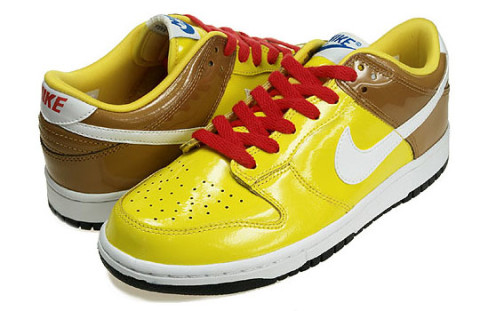 """huge discount 869ca 7cb0d The Nike Dunk Low """"Spongebob"""" has arrived at LTD. The sneaker comes in the  colors of the famous cartoon character, without having a direct link in the  form ..."""