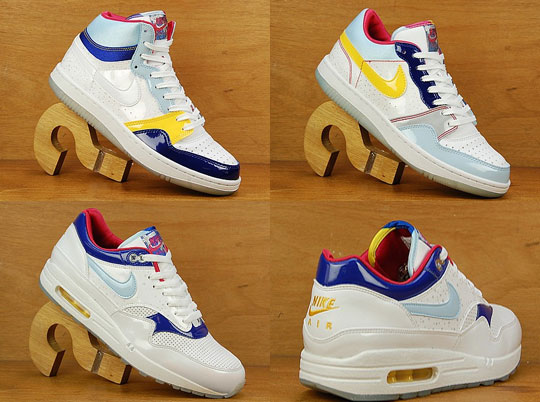 online store ba052 0ea63 ... authentic nike tanabata pack air max 1court force lowcourt force high  highsnobiety 72822 7c26b