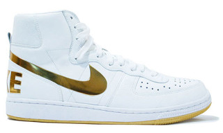 Nike Terminator High Supreme White/Gold