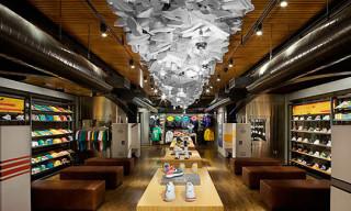 NikeTown NYC 5th Floor Gets Sportswear Treatment