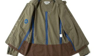 Nonnative x Honeyee Ripstop Short Work Jacket
