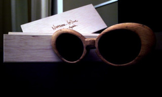 Number (N)ine Wooden Sunglasses