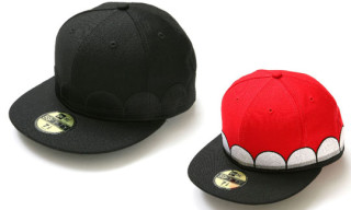 Original Fake x New Era Teeth Cap: Red/Black & Black/Black