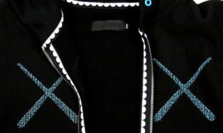 Original Fake Striped Cross Hoodie