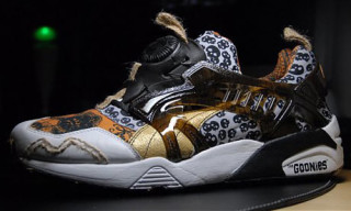 The Goonies x Puma Disc Blaze
