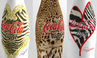 Roberto Cavalli Coca Cola Light Bottles