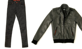 Surface 2 Air x Justice Denim/Leather Jackets