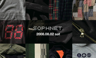 Sophnet A/W 08/09 Collection Announced
