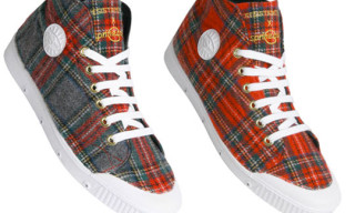 Resistance x Spring Court Check Sneakers
