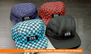 St. Alfred 5-Panel & Snap Back Caps