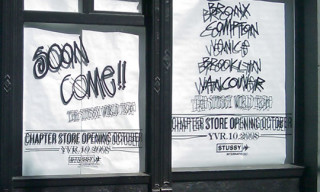 Stussy Vancouver Chapter Store Opening Soon