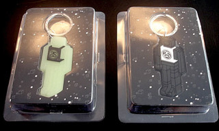 Stussy x Delta Robot Key Chains
