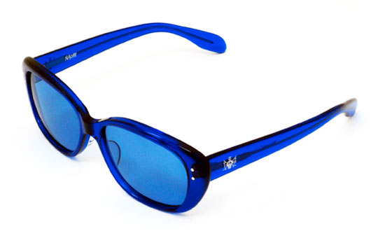 Blue Sunglasses  stussy naomi sunglasses by t19 highsiety