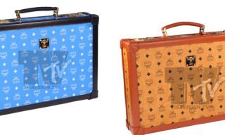 Tisa x MCM Briefcase