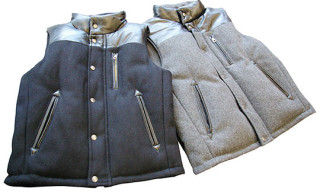 "Victim x Schott NYC ""Melton Down Vest"""