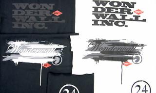 Wonderwall x Groovisions x Loopwheeler T-Shirts