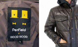 Penfield + Wood Wood Autumn/Winter 2008 | Leather Down Jacket