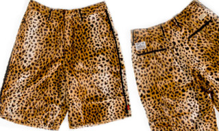 WTAPS Spring/Summer 2008 Leopard Shorts