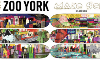 Zoo York Artist Series Decks – Makeset & Broken Windows