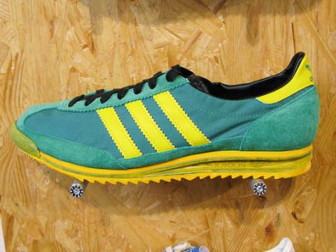 separation shoes f3cab 4ac07 adidas sl 72 vintage green