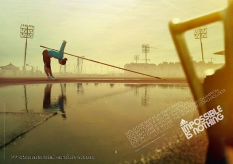 "Adidas ""Impossible is Nothing"" Olympic Print Ads ..."