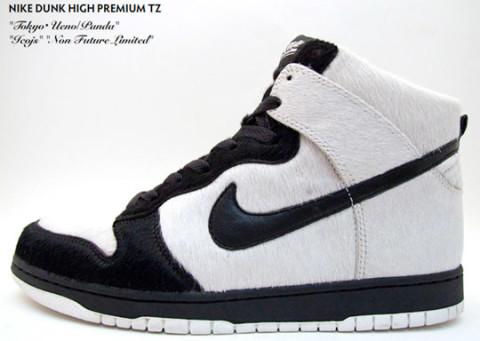 buy popular 1981c 79f00 Nike Dunk Hi Premium TZ Ueno Panda Highsnobiety new