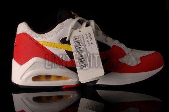 quality design 00872 2b6ab nike air max tailwind 92 le white crimsion yellow now available