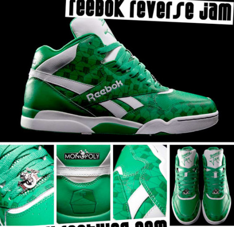 reebok monopoly shoes