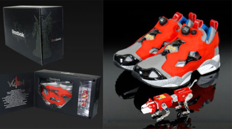Reebok Voltron Pack Amp Toys Highsnobiety