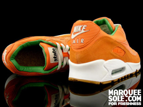 big sale e20d5 8c935 Nike AM90 Homegrown State Mag Hyperstrike Highsnobiety well-wreapped