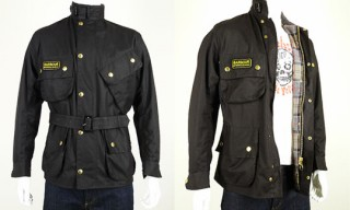 Barbour Wax Cotton International Motorcycle Jacket