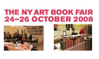 New York Art Book Fair, October 24 to 26