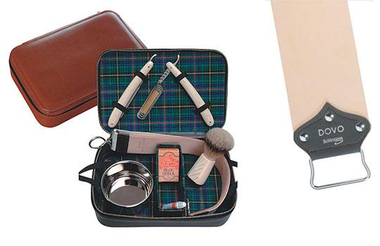 dovo straight edge shaver travel kit highsnobiety. Black Bedroom Furniture Sets. Home Design Ideas