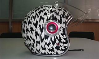 Eley Kishimoto Prototype Ruby Helmets