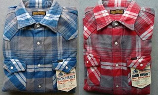 Iron Hearts Heavy Weight Flannels