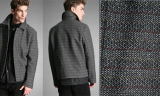 Raf By Raf Simons Tweed Harrington Jacket