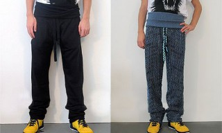 Bernhard Willhelm Cummerbund Sweatpants
