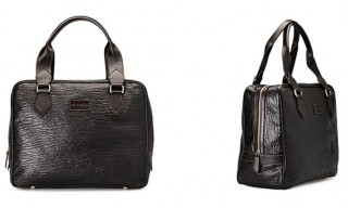 Etro Leather Bowling Bag