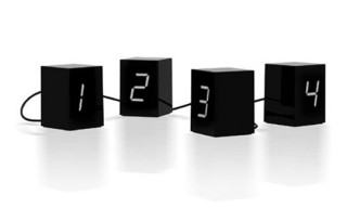 Open Edition Untitled (Numbers) LED Clock