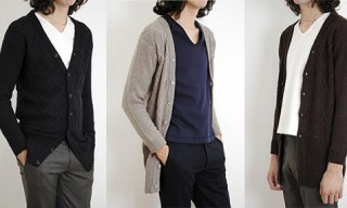 Lad Musician Bulky Mohair Knit Cardigans