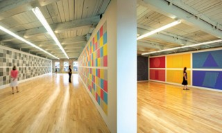 Sol LeWitt Wall Drawing Retrospective at Mass MOCA