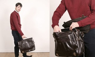 Our Legacy Large Briefcase Messenger Bag