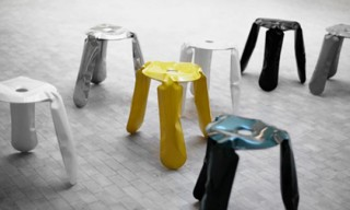 Plopp Stool by Oskar Zieta