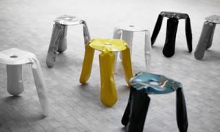Plopp Stool by Oskar Zieta